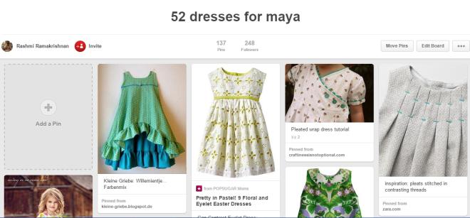 52 dresses